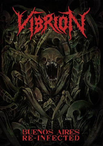 Vibrion- Buenos Aires Re-Infected DVD on Disembodied Rec.