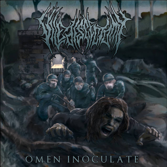 Vile Discectomy- Omen Inoculate CD on Rotten Music