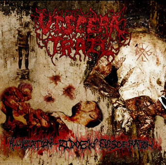 Viscera Trail- Humiliation Ridden Evisceration CD on Epitomite P