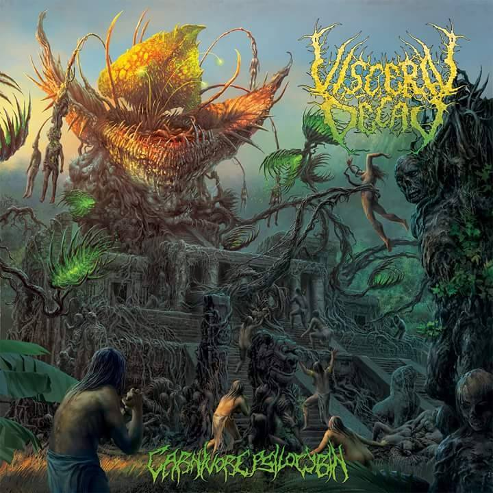 Visceral Decay- Carnivore Psilocybin CD on Lord Of The Sick