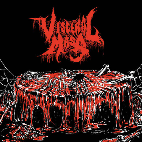 VISCERAL MASS- S/T CD on Sevared Rec. / Maggot Stomp ***PRE-ORDER***