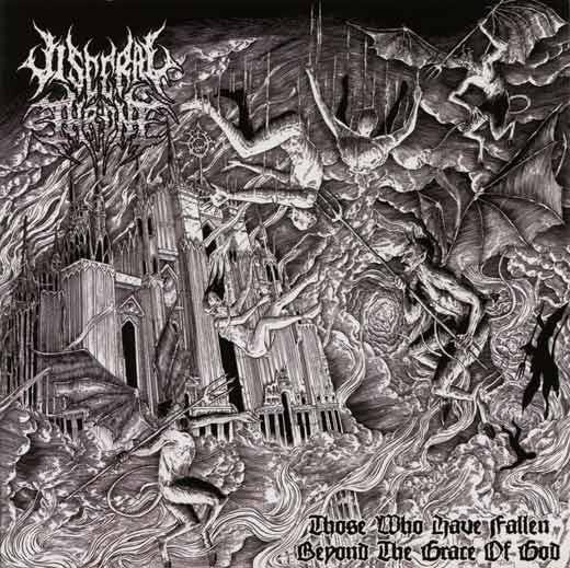 Visceral Throne- Those Who Have Fallen Beyond The Grace Of God CD on Comatose Music