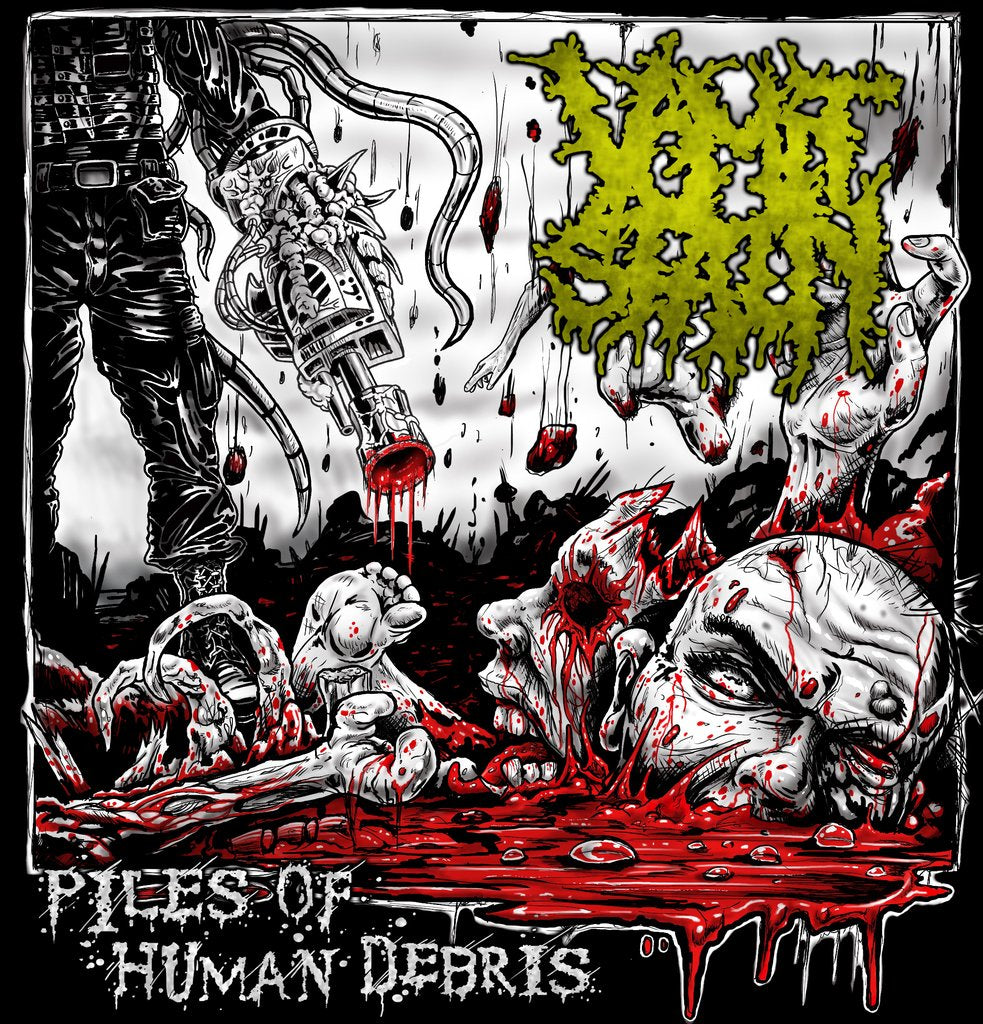 VOMIT STAIN- Piles Of Human Debris CD on Sevared Rec. OUT NOW!!!