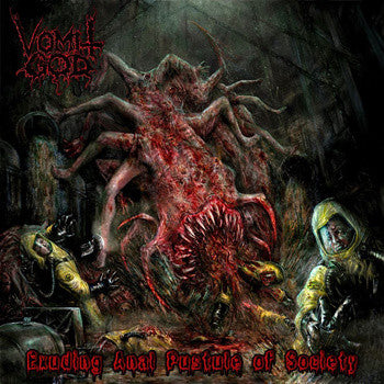 Vomit God- Exuding An*l Pustule Of Society CD on Rising Nemesis