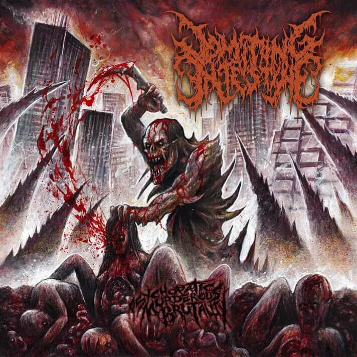 Vomiting Intestine- Psychopathic Murderous Brutality CD on Deathpressive Rec.