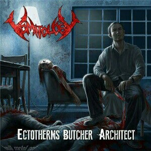 Vomitology- Ectotherms Butcher Architect CD on Limited Blasting Prod.