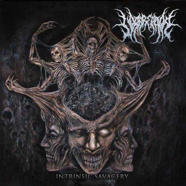 Vorarephilia- Intrinsic Savagery CD on Coyote Rec.