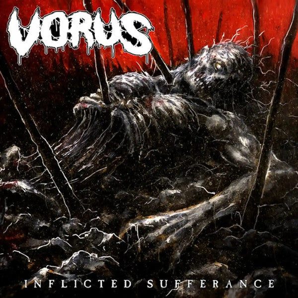 Vorus- Inflicted Sufferance CD on Death In Pieces Rec.