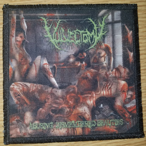Vulvectomy- Abusing Dismembered Beauties PRINTED PATCH