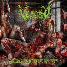VULVECTOMY- Abusing Dismembered Beauties CD on Sevared Rec.