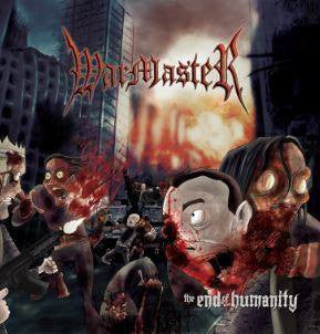 Warmaster- The End Of Humanity CD on Slaughterhouse Rec.
