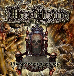 Warthrone- Venomassacre CD on Lost Apparitions Rec.