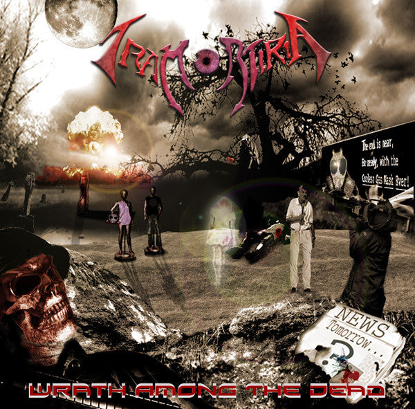 Tramortiria- Wrath Among The Dead CD on SG Rec.