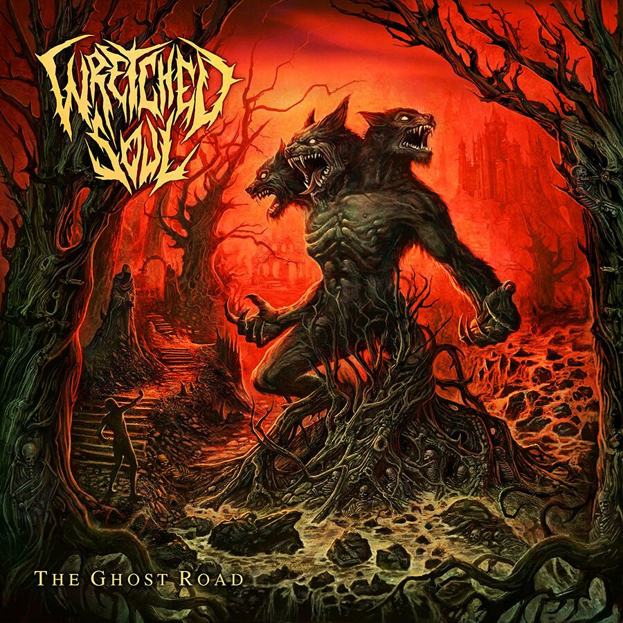 Wretched Soul- The Ghost Road DIGI-CD on UKEM Rec.