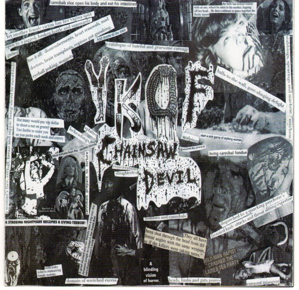 Your Kid's On Fire- Chainsaw Devil CD on Haunted Hotel Rec.