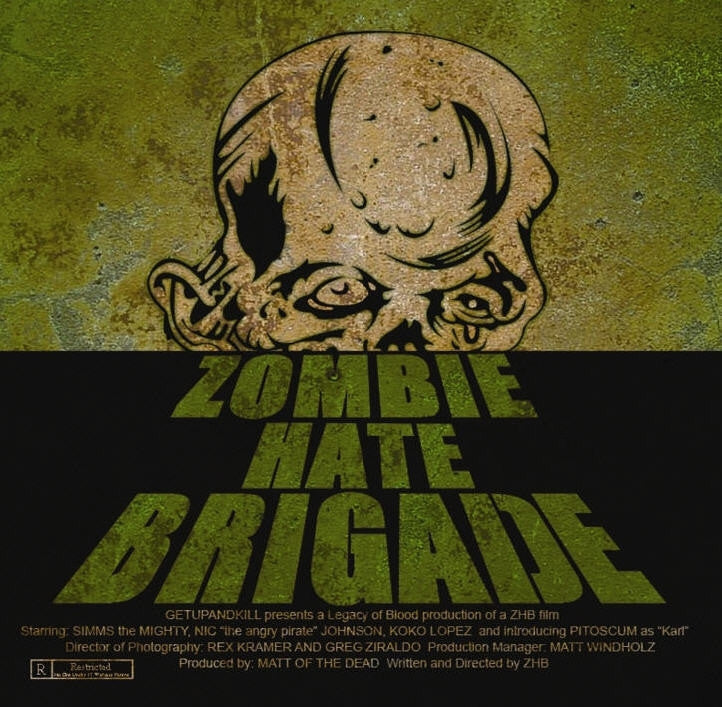 Zombie H*te Brigade- S/T CD Self Released