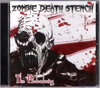 Zombie Death Stench- The Redeadening CD on Redrum Rec.