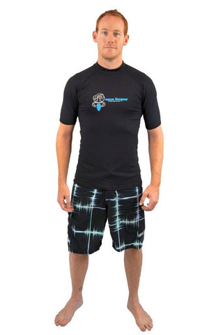 Aqua Tongue Mens short sleeve rash vest