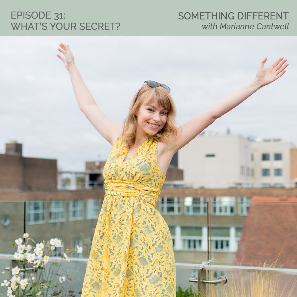 WYS 031: Something Different with Marianne Cantwell