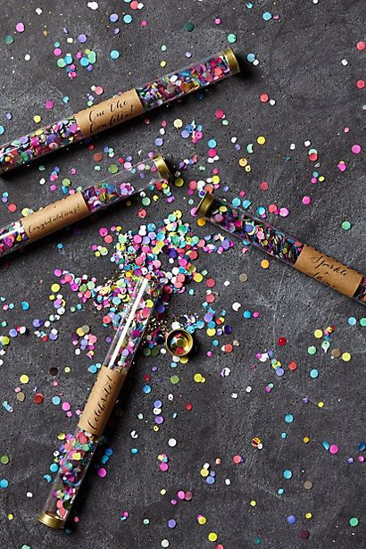 branding with confetti