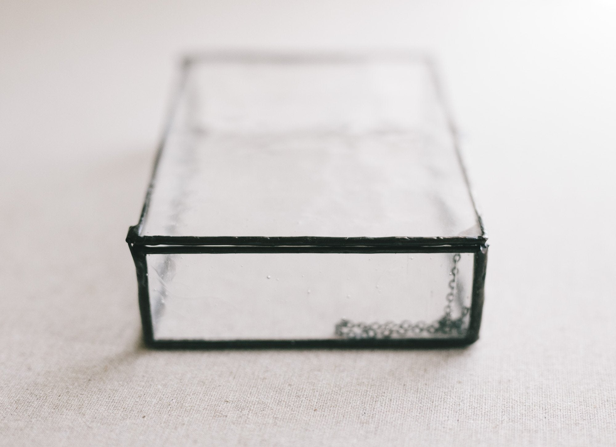 Champagne Glass Box 4x6 // Mon Trésor Collection