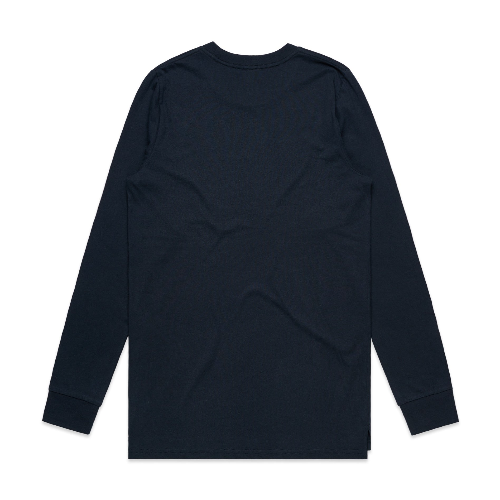 FUNDAMENTAL BADGE LONG SLEEVE - NAVY