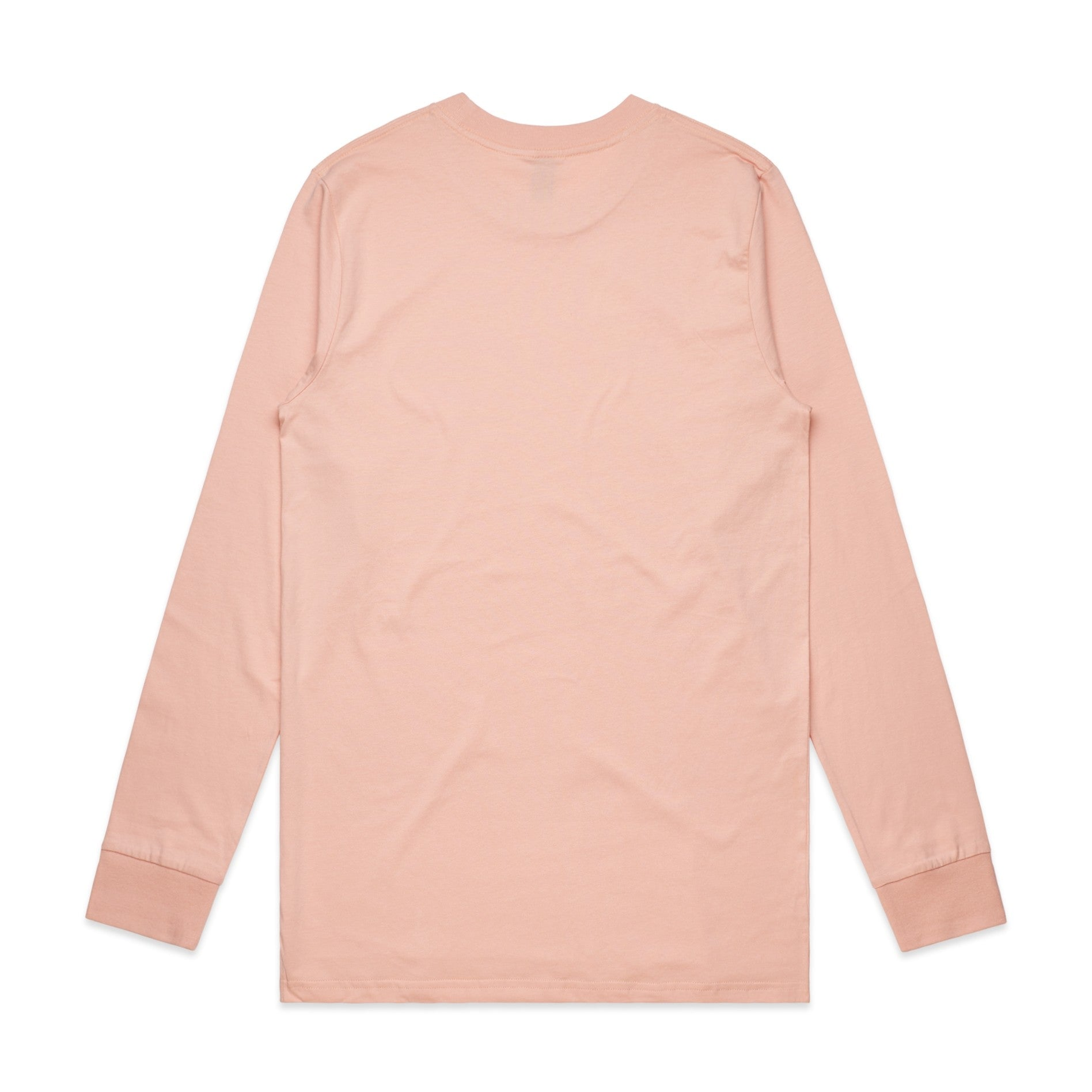 FUNDAMENTAL BADGE LONG SLEEVE - PALE PINK