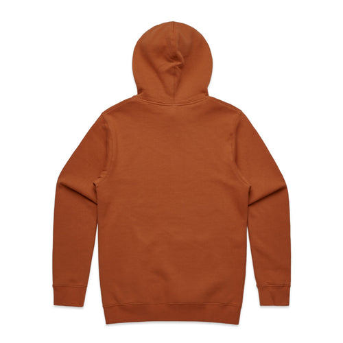 FUNDAMENTAL BADGE HOODIE - COPPER