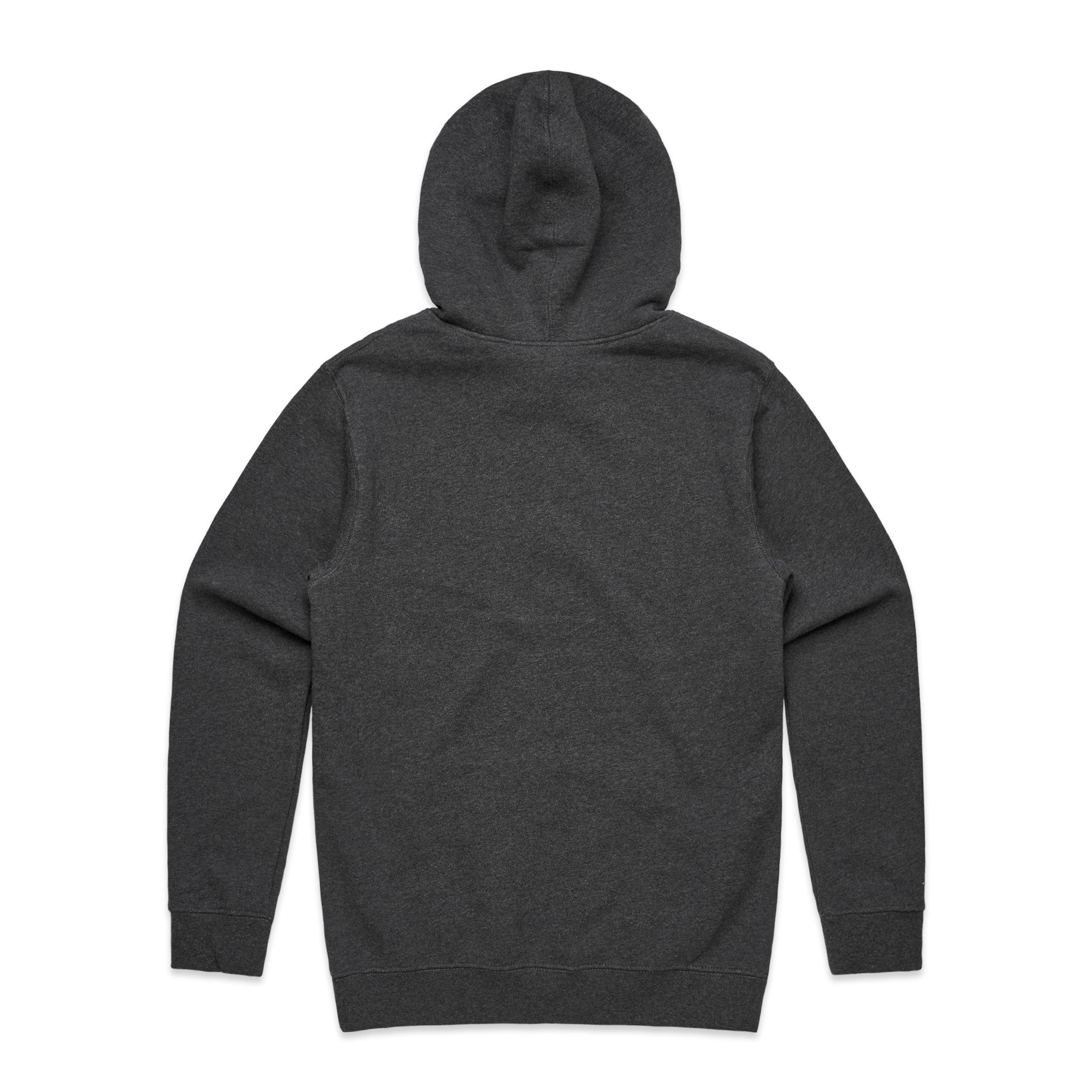 FUNDAMENTAL BADGE HOODIE - GREY MARLE