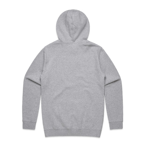 FUNDAMENTAL BADGE HOODIE - GREY