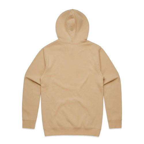 FUNDAMENTAL BADGE HOODIE - TAN