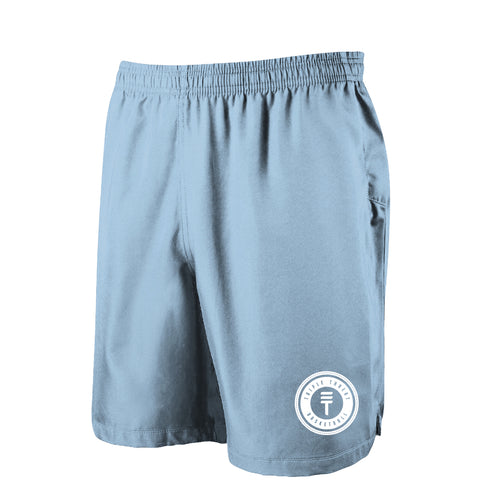 TT SHORTS - BABY BLUE/WHITE