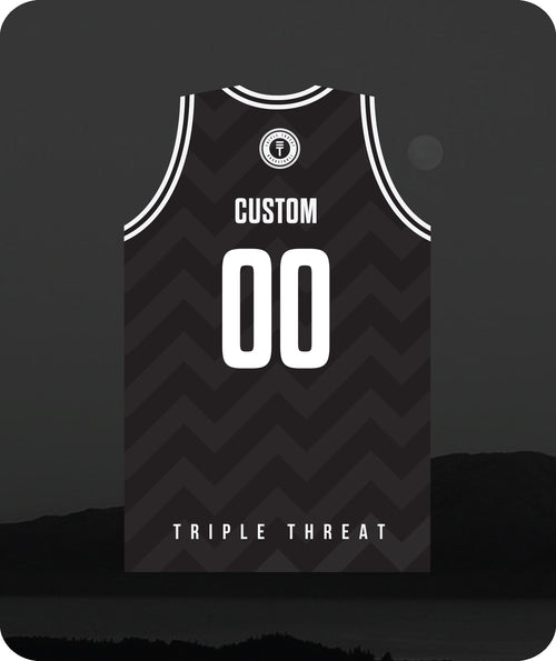 Hoop Club Kapiti Singlet Custom - Black