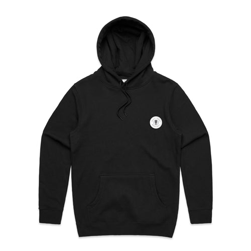 FUNDAMENTAL BADGE HOODIE - BLACK