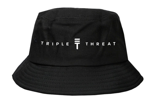 Triple Threat Bucket hat - Black/Whitre