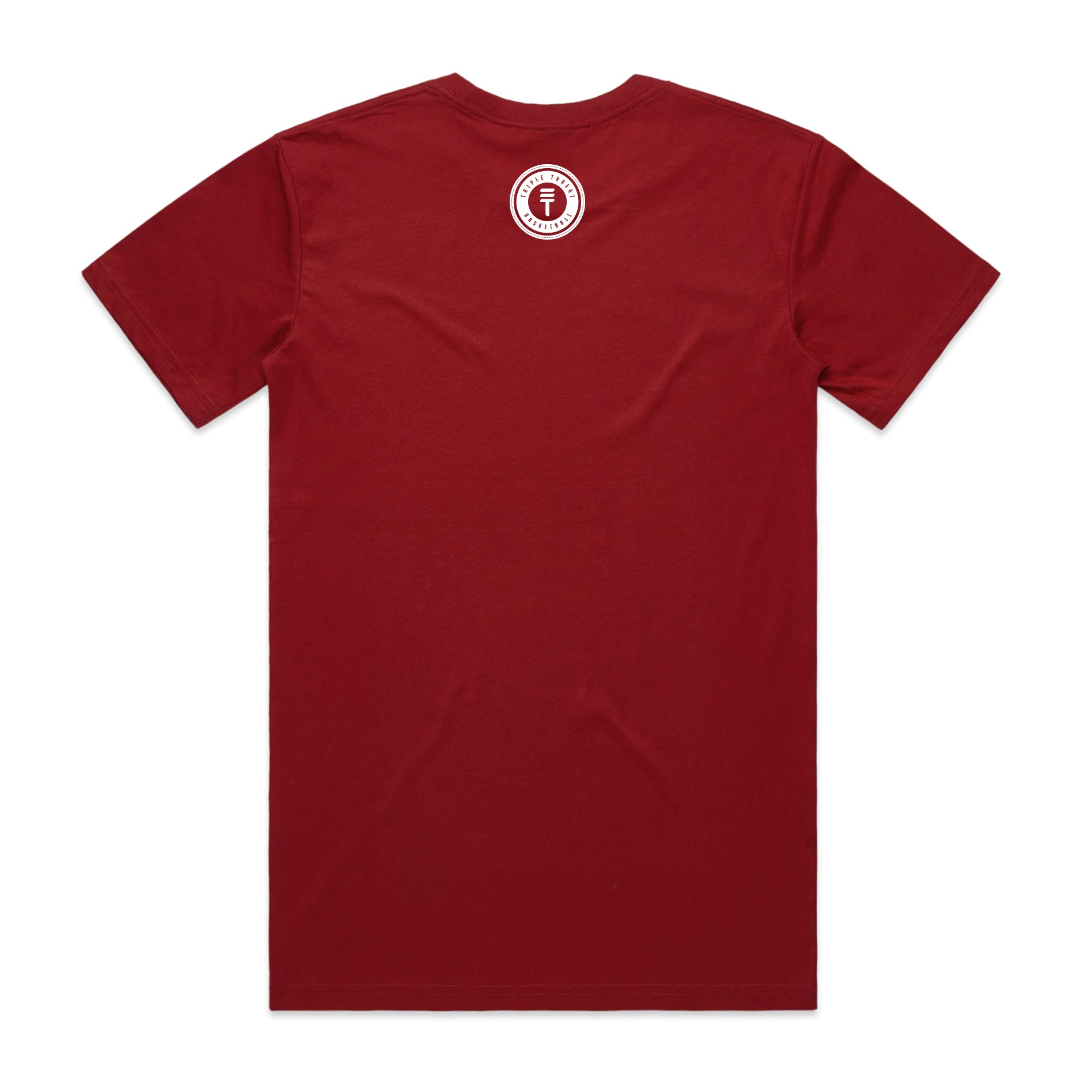 WELLINGTON T-SHIRT - DARK RED