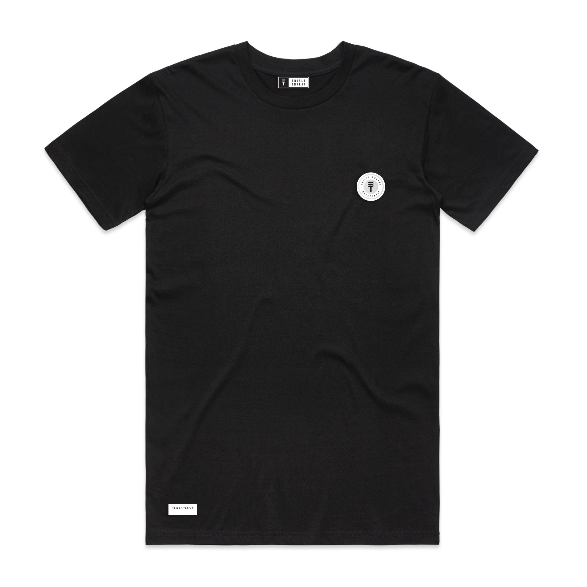 FUNDAMENTAL BADGE T-SHIRT - BLACK