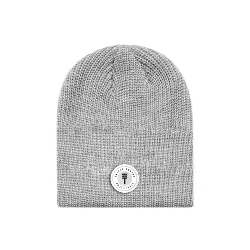 FUNDAMENTAL BADGE BEANIE - GREY