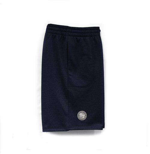 HOOP STYLE SHORTS - NAVY MARLE