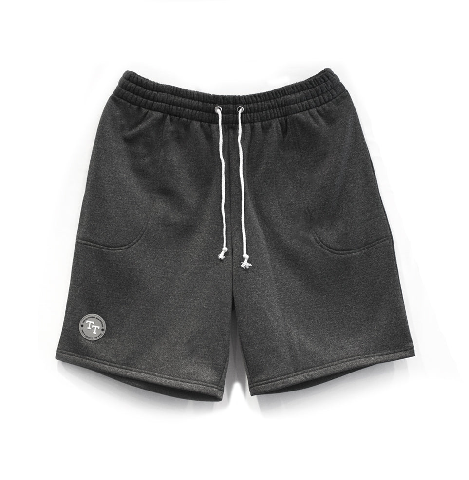 HOOP STYLE SHORTS - CHARCOAL MARLE