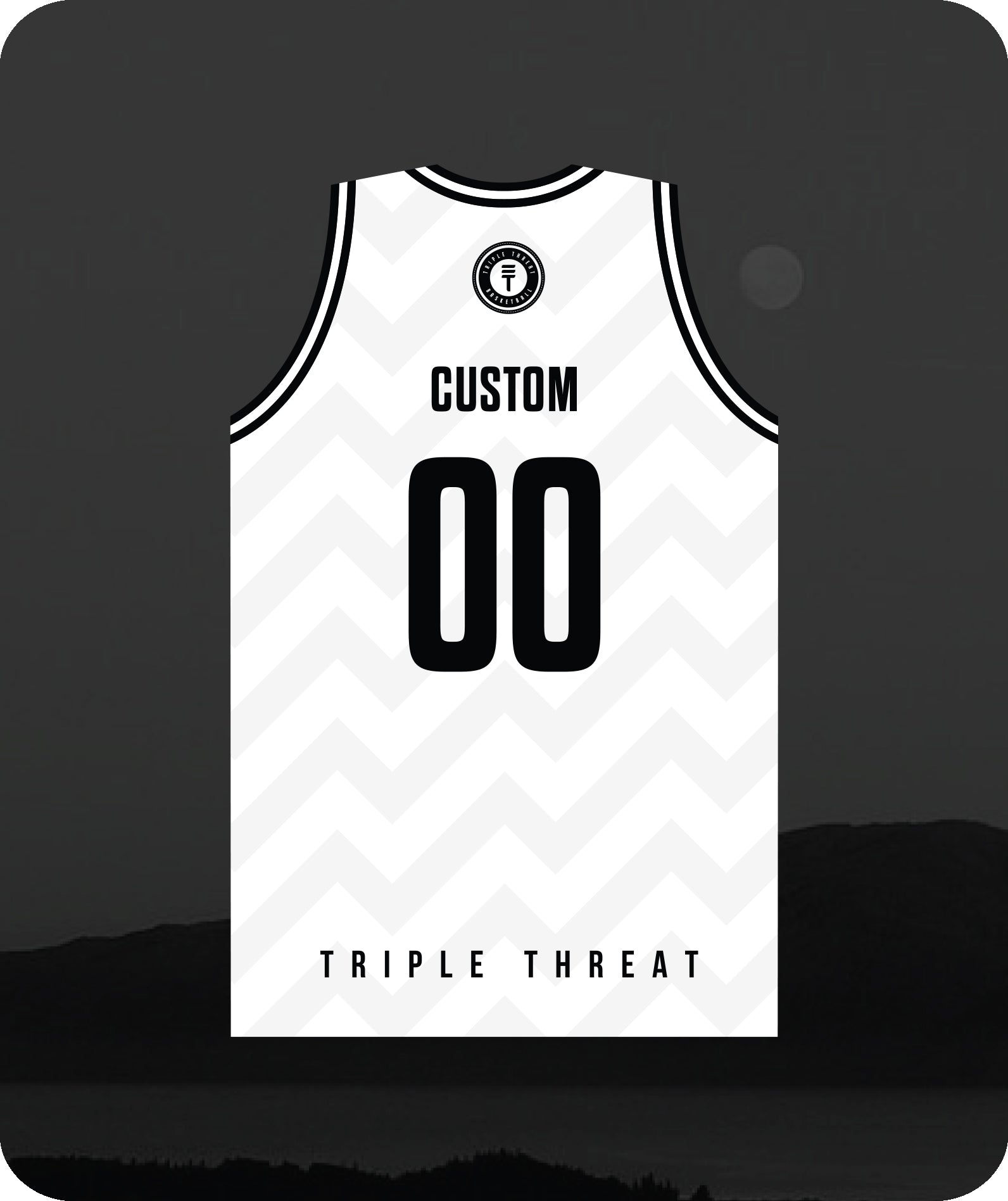 Hoop Club Kapiti Singlet Custom - White