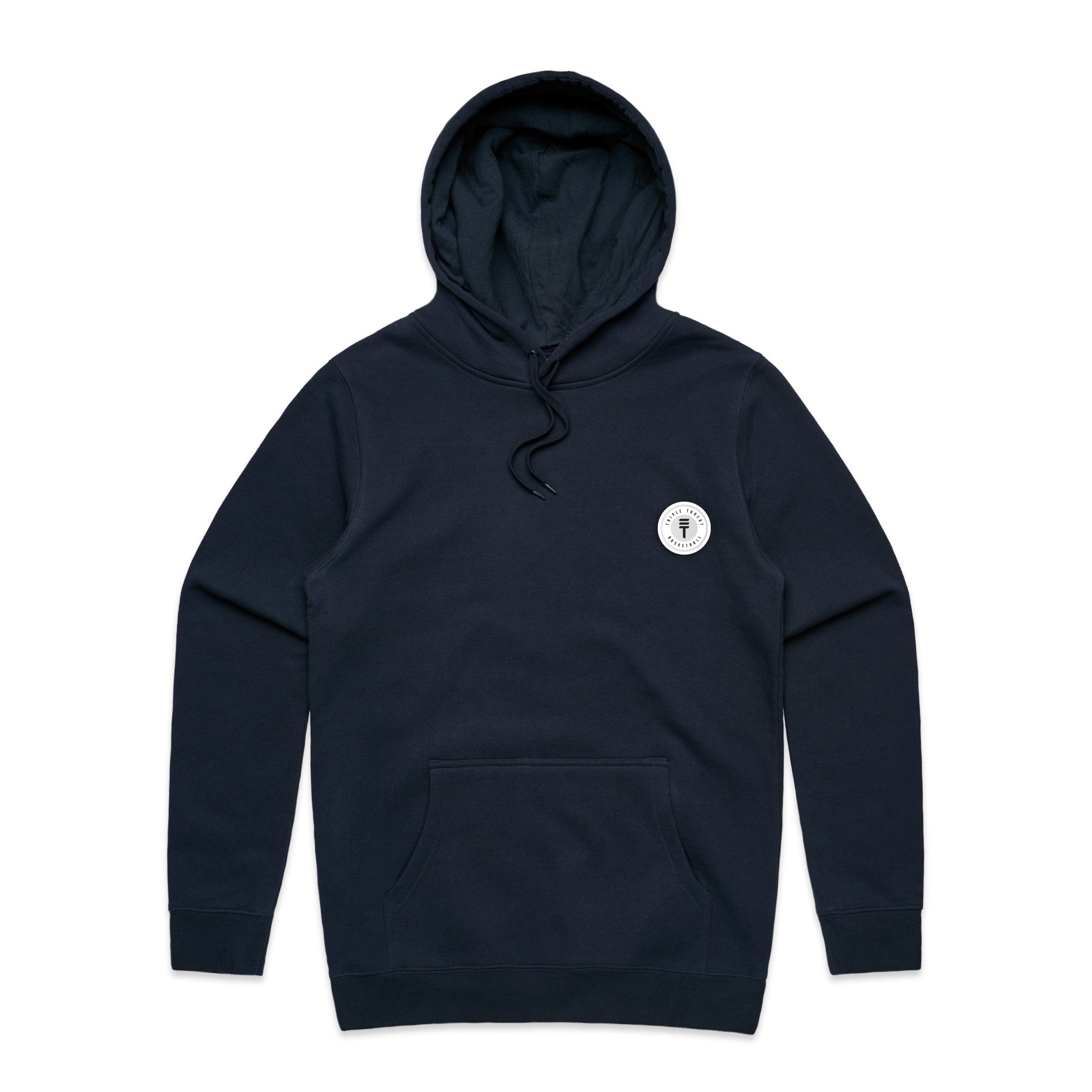 FUNDAMENTAL BADGE HOODIE - NAVY