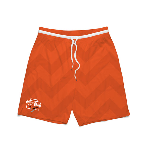 HOOP CLUB SHORTS - ORANGE