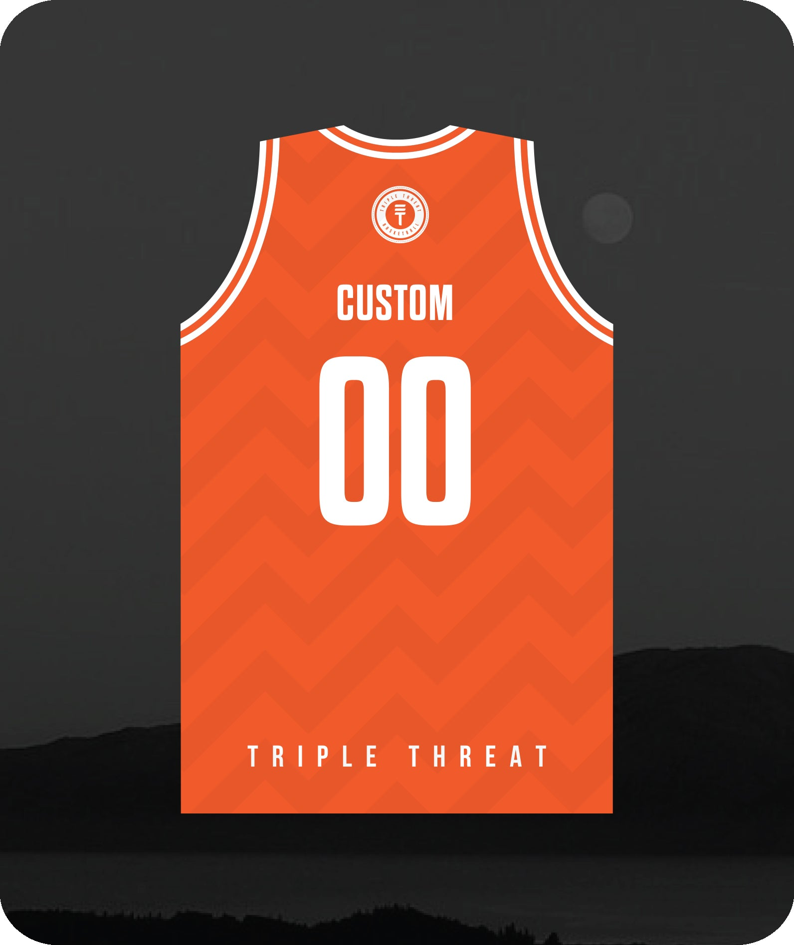 Hoop Club Kapiti Singlet Custom - Orange