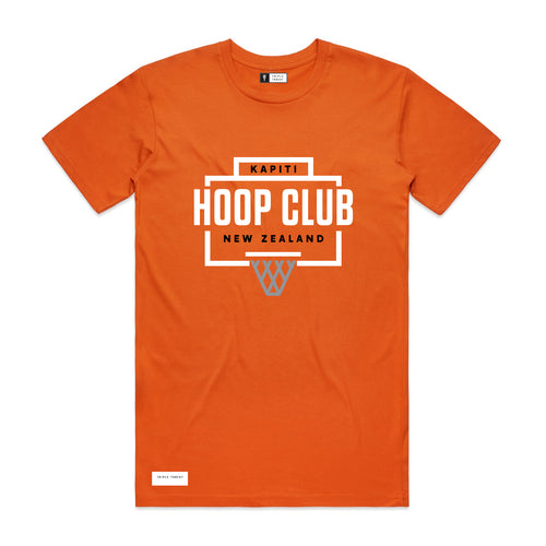 HOOP CLUB T-SHIRT - ORANGE