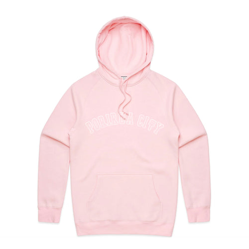 PORIRUA CITY MID WEIGHT HOODIE -  PINK