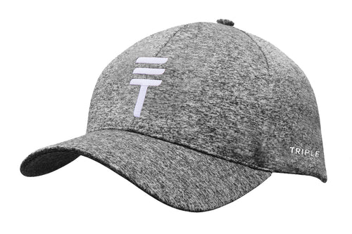Triple Threat Strapback - Grey Twist/White