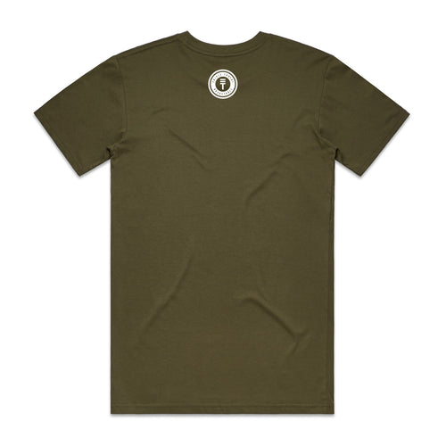 LOGO T-SHIRT - ARMY