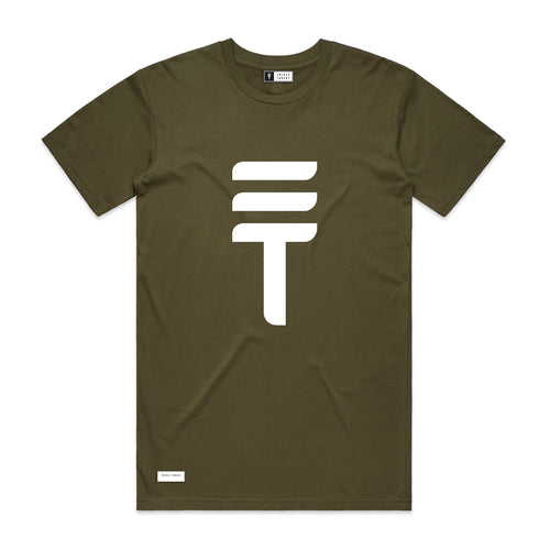 BIG LOGO T-SHIRT - ARMY
