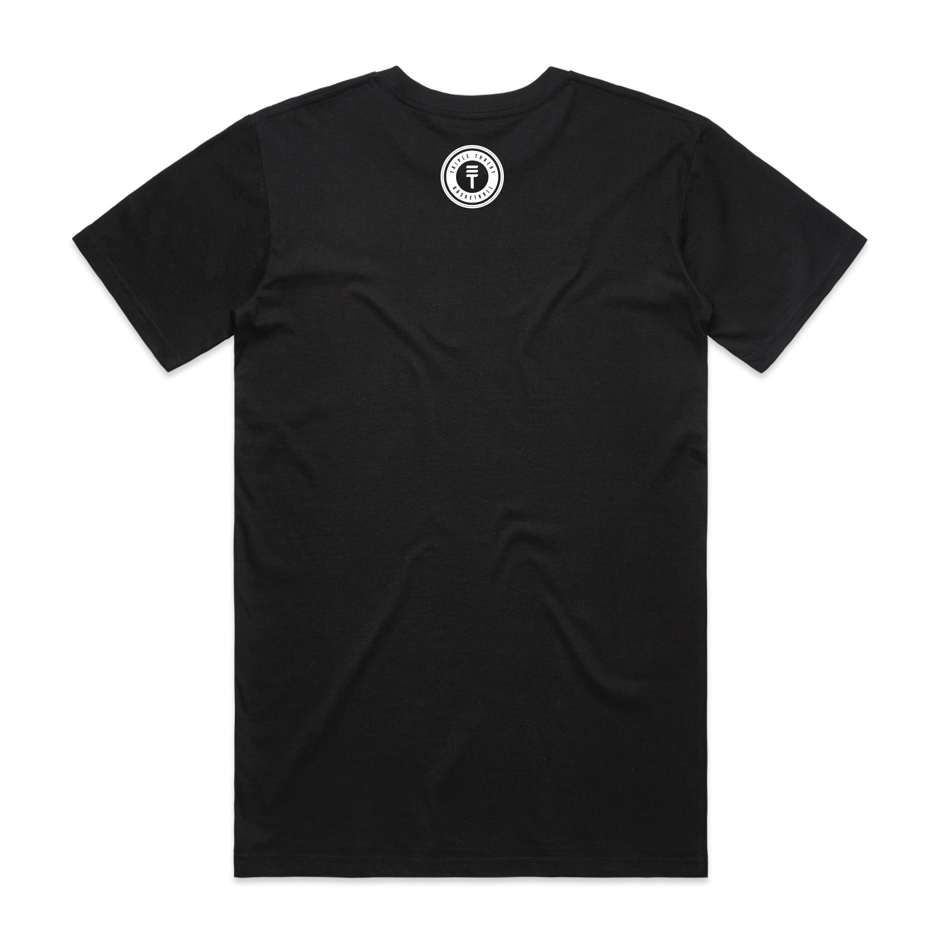 ROUND LOGO T-SHIRT - BLACK